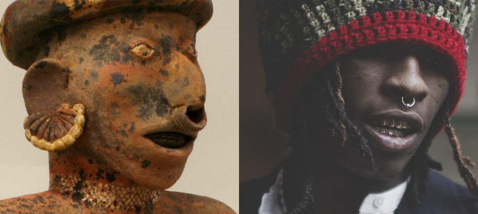 Rapper With Z Tattoed On His Face: How Young Thug, 2 Chainz, YG, And Pre-Renaissance Art Are