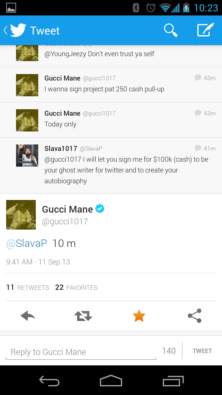A Few Good Mane: How Twitter Almost Let Me Help Gucci Mane ...