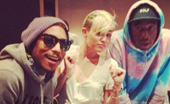 Holy Shit, Miley Cyrus is Working with Tyler, the Creator ...